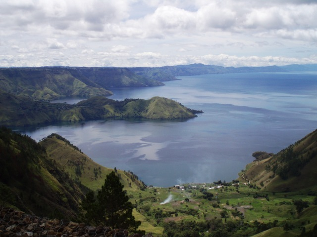 The Beautiful of Lake Toba