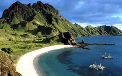 new zealand - pulau komodo