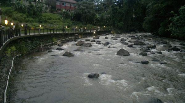 sungai ciliwung!