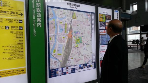JR map