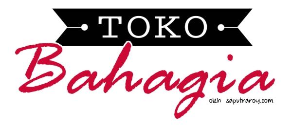 toko bahagia logo