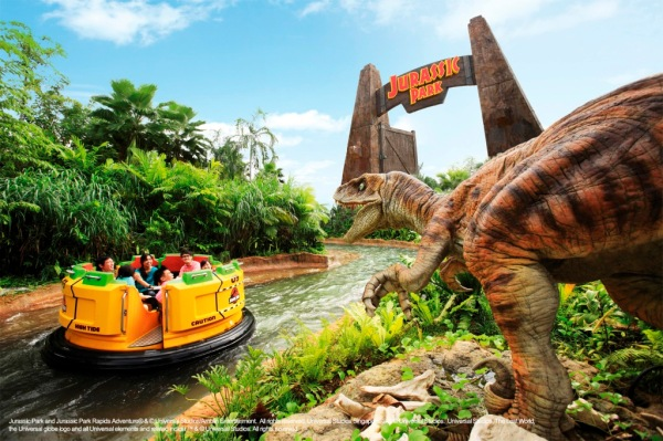 The Lost World - Jurassic Park Rapids Adventure