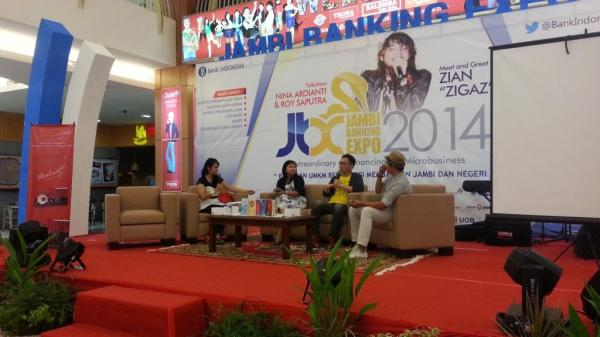 talkshow Jambi Banking Expo